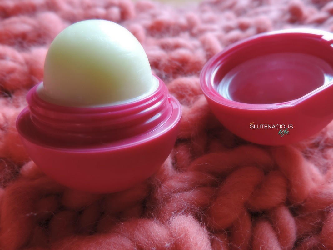 EOS lip balm and hand lotion: A gluten-free cosmetic review | www.glutenaciouslife.com