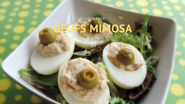 Oeufs mimosa is my go to recipe for Summer time: very quick and easy to prepare, they are the perfect combo for picnis, outdoors activies and just simple lazy