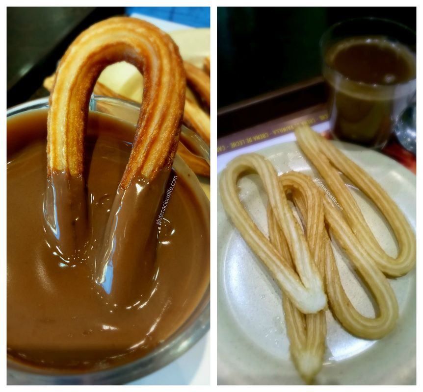Churros Sin Gluten Chocolate Sin Lactosa Maestro Churrero Madrid